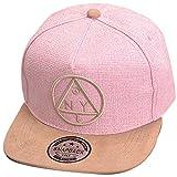 Belsen - Gorra de béisbol con diseño de triángulo para mujer