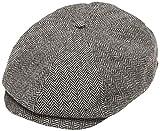 BRIXTON Uni Kappe Brood, 9-110-00006-0301, Color Gris/Negro (Grey/Black) - M