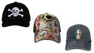 Las gorras con calaveras de temporada