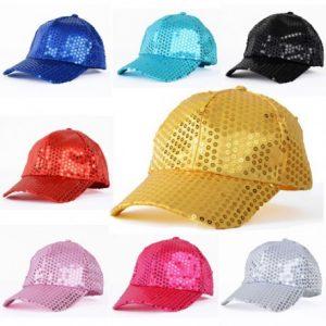 Las gorras con lentejuelas de temporada